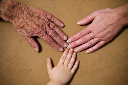 wrinkledhands from Baby to Elderly